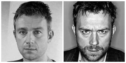 Damon Albarn, chanteur de Blur, Gorillaz, The Good The Bad ans The Queen ... producteur, compositeur... etc!