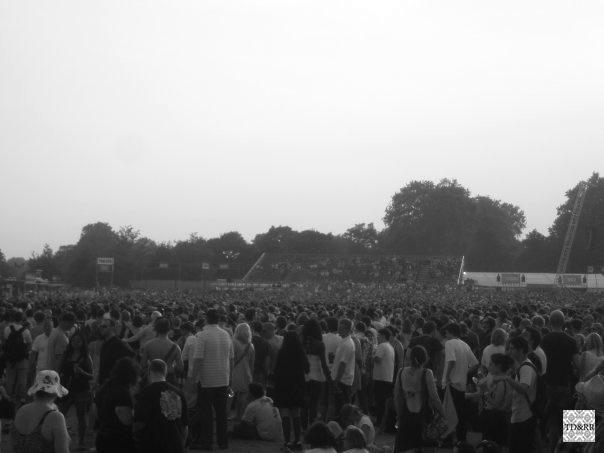 La foule de 55000 personnes