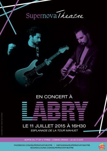 concert Labry supernova theatre