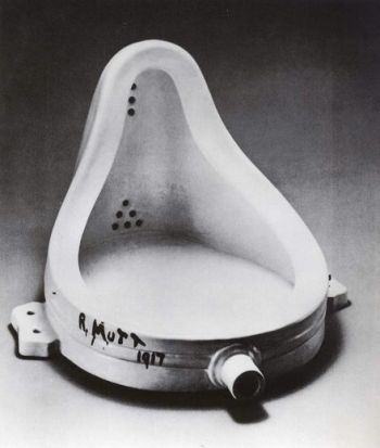fontaine marcel duchamp 1917