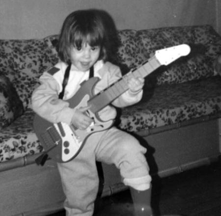 La Mère Tatouée enfant? Déjà Rock'n Roll!