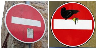 Trace d'un oiseau à Audierne, qui devait ressembler à peu près à celui de droite.