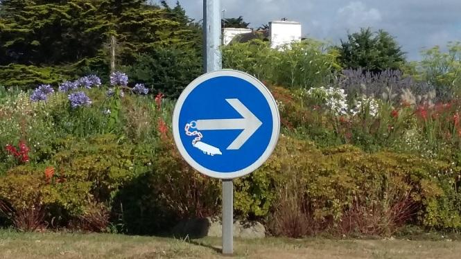 Détail Rond Point Esquibien