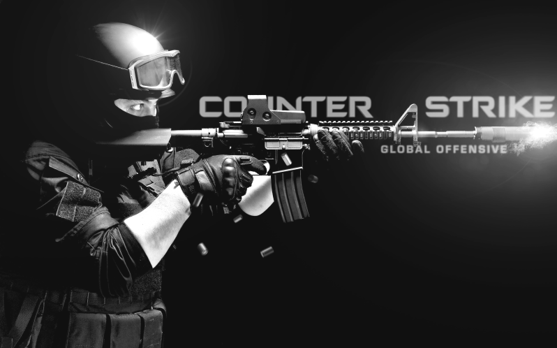 Thanks Google! CS-GO is an online video game!