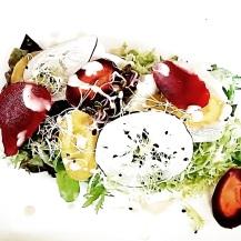 Salade de légumes crus/cuits
