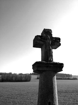 La croix de chemin Saint Sauveur
