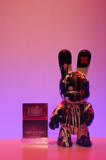 Mascotte 2016 du Festival par Danny Ded